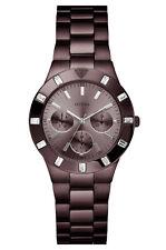 Guess W17005L1 Glisten Reloj Banda de Acero Inoxidable Bronce