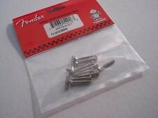 Genuine FENDER Jazzmaster Bridge Mounting Screws 12 Pk