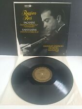 RUGGIERO RICCI PAGANINI/SAINT-SAENS-DECCA DL-10106  GOLD LABEL RUDOLF EXCEL. LP