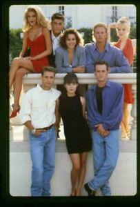 Beverly Hills 90210 Original Transparency Luke Perry Jennie Garth Tori Spelling