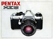 Pentax Me Super Slr 35mm Camera Owners Instruction Manual -from 1980s