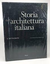 Storia dell' Architettura italiana Il Settecento HB/DJ Slipcase 2 Book Set New