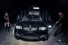 BMW E87 E81 E88 E82 SERIE M SPORT M1 PARAURTI ANTERIORE M-PACK M-TECH