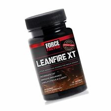 Force Factor LeanFire XT Thermogenic Fat Burner Weight Loss Supplement
