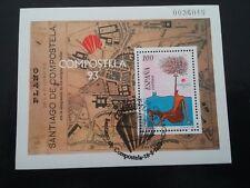 ESPAÑA SPAIN AÑO YEAR 1993 EDIFIL HOJA HB Nº 3258 (o) USADO USED - COMPOSTELA 93