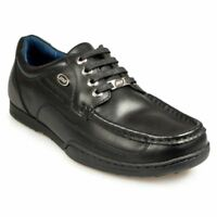 POD Panter Mens School/Work Shoes in Black