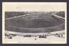 1925 BUCKNELL GEORGE WASHINGTON FOOTBALL POSTCARD ~ CHRISTY MATHEWSON BURIED