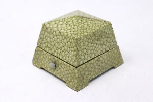 A Fantastic Antique Art Deco F.J Lees Nottingham Shagreen Effect Ring Box #29964