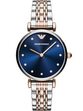 100 Emporio Armani AR11092 Rose Gold Tone and Stainless Steel Women's Watch