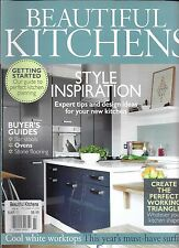 Beautiful Kitchens magazine Style and design tips Bar stools Ovens Stone floors