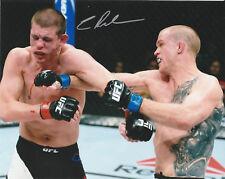 EVAN DUNHAM SIGNED AUTO'D 8X10 PHOTO MMA UFC 95 115 216 156 FIGHT NIGHT B