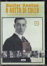 Dvd **A ROTTA DI COLLO 4** con Buster Keaton nuovo 1921