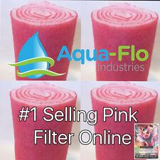 FOUR 10' ROLLS - FILTER MEDIA PADS FOR SALT WATER AQUARIUMS. + PINKY PIGGY CARD