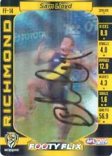 ✺Signed✺ 2017 RICHMOND TIGERS AFL Premiers Card SAM LLOYD Footy Flix