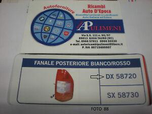 58720 FANALE POSTERIORE (REAR LAMP) DX ISUZU D-MAX  01/02->12/2006