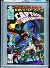 Marvel Spotlight V.2 #9 CGC 9.4 White Pages Captain Universe