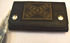 Oldschool CSA Wallet Chain Geldbörse Flagg Kette Naked Leather Rockabilly neu
