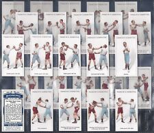FRANKLYN DAVEY-FULL SET- BOXING (25 CARDS) - EXC+++
