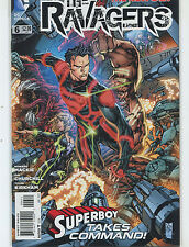 The Ravagers #6 NM  The New 52  Superboy Takes Command DC Comics MD9