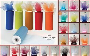 Tulle Tutu Roll Solid Color PartyFavor Candy Wrap Decorative Wedding Baby Shower