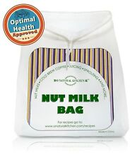 Nut Milk Bag - Organic Nut Milks & Juicing, Cold Brew Coffee, Sprouting & Health