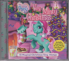 My Little Pony A VERY MINTY CHRISTMAS 15 Magical Sing-ALongs 2005 CD Children's