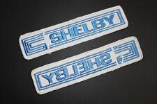 Original 1967 NOS Early Carroll CS Shelby Team Shirt Patch SAAC Mustang Cobra