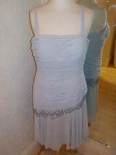 Gina Bacconi Silver Grey  dress  SE50168D size 14