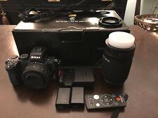 Nikon Z50 Mirrorless Camera w/16-50mm & 50-250mm w/extra battery & remote