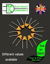 Monolithic Multi Layer Ceramic Capacitors 10 pack (many values available)