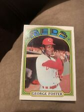 1972 topps george foster #256 Good
