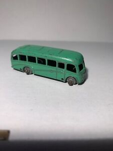 Matchbox  Bedford Duple Luxury Coach No 21 Lesney vintage toy (2-72)