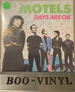 "The MOTELS ""  Days are OK""  7"" Vinyl Capitol CL 16149 Ex / Ex Con"