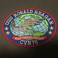 US NAVY USS RONALD REAGAN CVN-76 PATCH