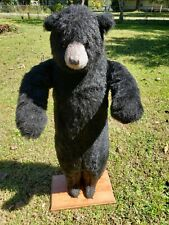 Scarce Hen House Ditz Large Standing Cabin Black Bear With Poseable Arms
