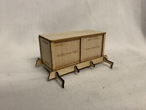 ✅WEAVER MODEL TRAIN CRATE BOX LOAD FOR LIONEL MTH FLAT BOX CARS WAREHOUSE