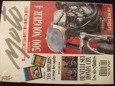 ** Moto Légende n°19 Poster 500 Nougier 4 / 250 Panther 1937 / 750 Cemec C8