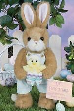 "14"" Petey & Peeps*Bearington Stuffed Bunny*New*Nwt*Spring*East er*Rabbit*420336"