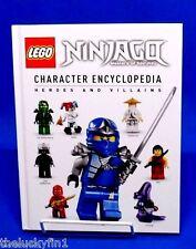 Lego Ninjago Masters of Spinjitzu Character Encyclopedia Hardcover Book B038