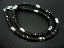 "A MANS OR LADIES TRIBAL SURFER STYLE NECKLACE. 18"". NEW."