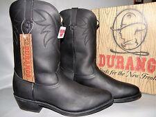 NEW Men's Size 13D Durango #TR760 Black Leather Cowboy / Western Boots