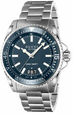 Gucci YA136203 Dive 45MM Men's Stainless Steel Watch