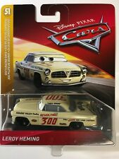 DISNEY PIXAR CARS LEROY HEMING DOC'S RACING DAYS #300