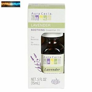 Aura Cacia 100% Pure Lavender Essential Oil   GC/MS Tested for Purity   15 ml (0