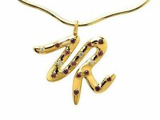 9 Carat Amethyst Yellow Gold Fine Necklaces & Pendants