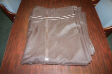 NEW Brown Mesh Tarp - 12'x28' Straight Throw Tarp