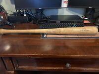 Genuine Autographed Louisville Slugger Baseball Bat Jackie Robinson Model 125S