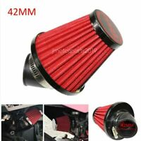 Dual Layer Clamp On Pod Air Filter Cleaner 48mm ID Black for 150cc ATV