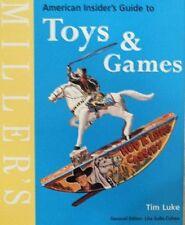 LIVRE/BOOK/GUIDE : TOYS & GAMES / JOUETS & JEUX (corgi,marlin,schuco,barbie ...)