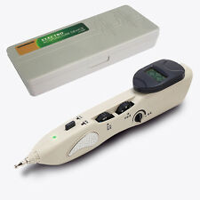 Magic LCD Electric Massage Acupuncture Pen Laser Acupuncture Therapy STIMULATOR